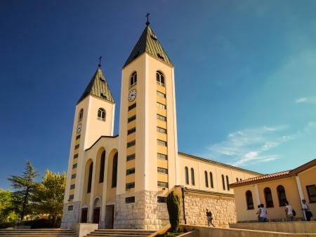 Church in Medugorje, Bosnia Herzegovina