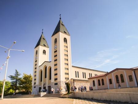 メジュゴリエ, ボスニア ヘルツェゴビナの教会 写真素材 - 15844127