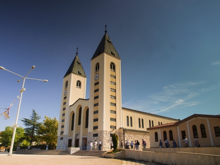 Church in Medjugorje, Bosnia Herzegovina photo