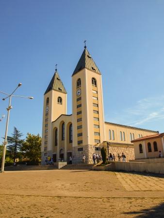 Church in Medjugorje, Bosnia Herzegovina photo