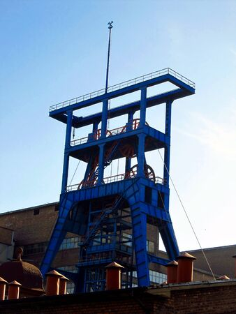 coking: coal mine, the blue tower exhaust shaft