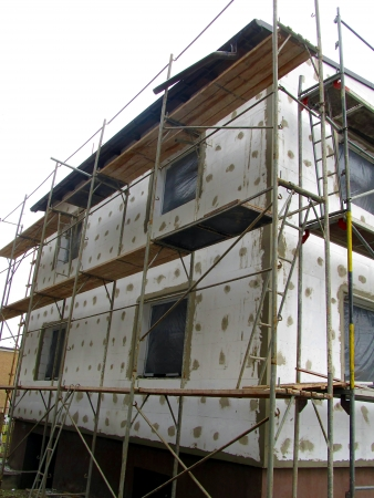 primer: Thermal insulation of building walls with the use of polystyrene foam detached