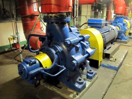 pumps, piping, valves and fittings for pumping water