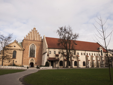 order in: church and convent of the Franciscan Order in Krakow in Poland