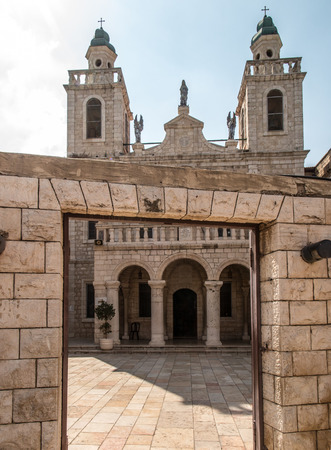The Church of Jesus first miracle. Couples from all over the world come to renew their wedding vows, Cana, Israel