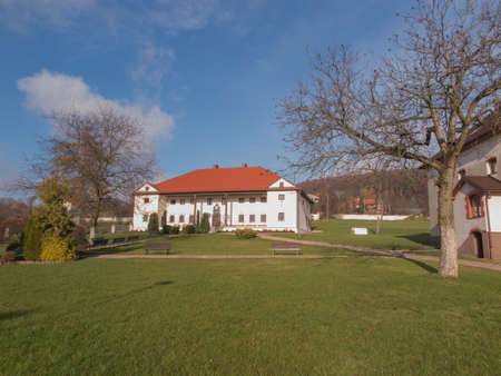adolf: Siedlce POLAND, November 22, 2015 .: Building Monastic Sisters of the Holy Soul of Christ the Lord in Siedlec, Poland Editorial