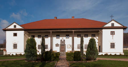 Siedlce POLAND, November 22, 2015 .: Building Monastic Sisters of the Holy Soul of Christ the Lord in Siedlec, Poland Sajtókép