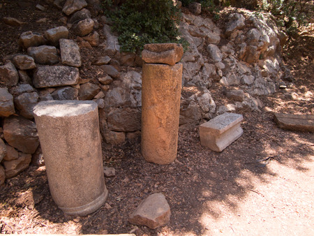 cult: Architectural antiquities in natural reservation of Hermon river (Banyas) - Cult center of the God Pan, north of Israel