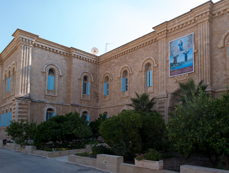 Bethlehem in the Palestinian Autonomy, Carmelite convent on the Hill of David in Bethlehem outside the place associated with Baouardy Miriam, Mary of Jesus Crucified, Little Arabian holy Catholic Church.