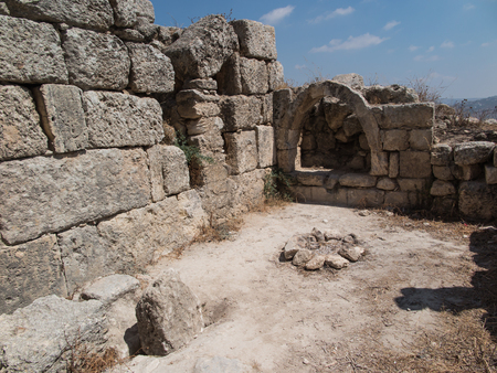 ruins is ancient: Sebastia, ancient Israel, ruins and excavations in the Palestinian territories. Smaria