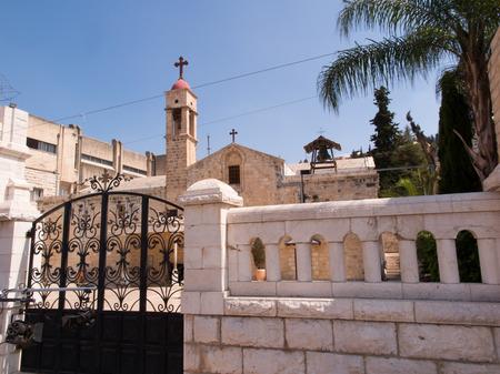 annunciation of mary: Greek Orthodox Church of the Annunciation, Nazareth, Israel