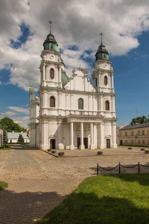 Shrine, the Basilica of the Virgin Mary in Chelm in eastern Poland near Lublin