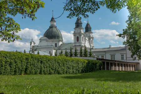 mercy: Shrine, the Basilica of the Virgin Mary in Chelm in eastern Poland near Lublin, gate of mercy