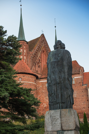 copernicus: Frombork Cathedral, place where Nicolaus Copernicus was buried. Poland