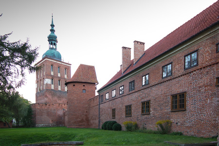 warmia: Frombork Cathedral, place where Nicolaus Copernicus was buried. Poland