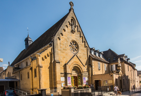 revelation: Chapel of the revelation of the Lord Jesus Margaret Mary Alacoque in Paray Le Monial, France