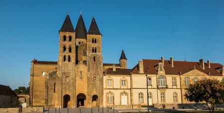 sacre: The basilica du Sacre Coeur in Paray-le-Monial, France