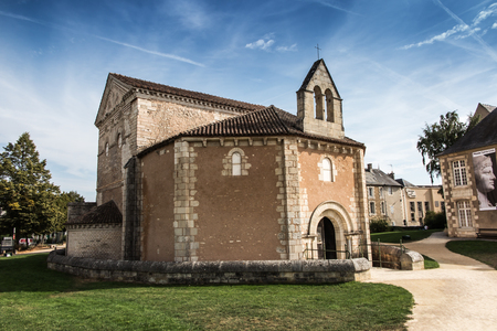 architectural architectonic: Baptistere Saint-Jean ( Baptistery of St. John ) Poitiers, France. Oldest church in France
