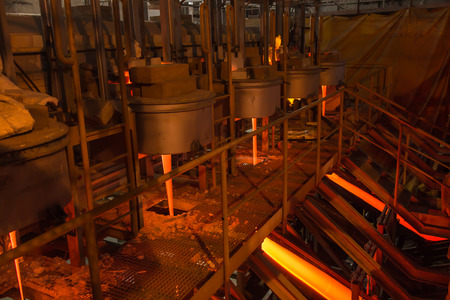 glasswork: production of enamel at factory