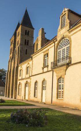 The basilica du Sacre Coeur in Paray-le-Monial, France