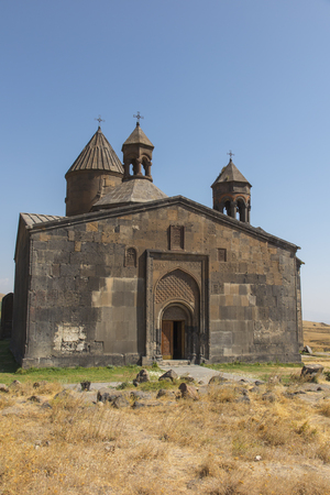 monastic: The Saghmosavank monastery of the Psalms, is a 13th-century Armenian monastic complex located in the village of Saghmosavan in the Aragatsotn Province of Armenia.