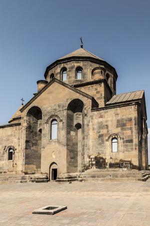 Saint Hripsime Church is a seventh century Armenian Apostolic church in the city of Vagharshapat (Etchmiadzin), Armenia. Editorial