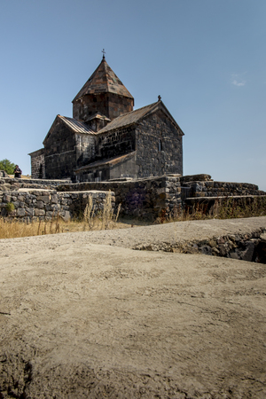 Sevanavank is a monastic complex located on the northwest coast of Lake Sevan in the Gegharkunik Province of Armenia, not far from the town of Sevan in Armenia