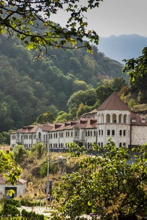 A building in the village of Gosh in Armeni, near the Goshavank monastery