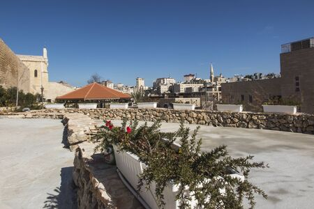 Carmel of the holy Child Jesus in Bethlehem and surroundings. A place related, among others, to the stay of Mariam Baouardy or Saint Mary of Jesus Crucified