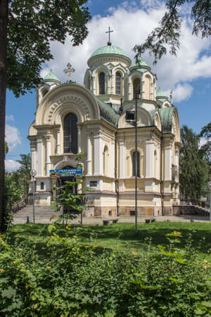 The church dedicated to Saint Jakub in Czestochowa in Poland, which is on the route of three pilgrimage routes of St. James to Santiago de Compostela - Camino (Old Polish, Jasna Góra, Czestochowa)