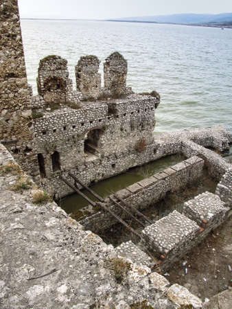 Golubac Fortress - 12th century castle located at the entrance of river Danube. North Serbia
