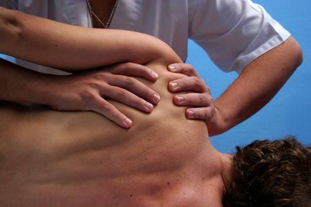 indulgent: shoulder massage