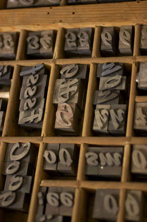 monotype: Wood Type in DrawerWood Type in Drawer