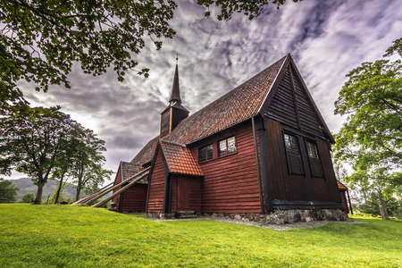 stave: Kvernes Stave Church, Norway