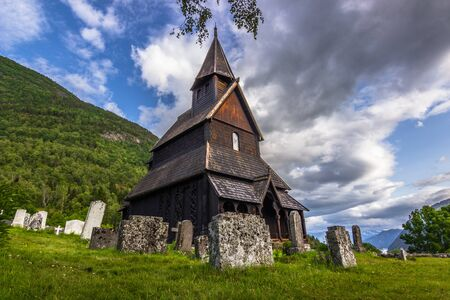 stave: Urnes stave Church, the oldest of them all, Norway
