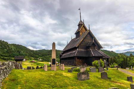 wood staves: Eidsborg Stave Church, Norway