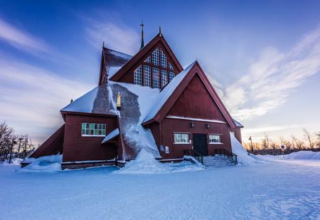 kiruna: The Church of Kiruna, Sweden