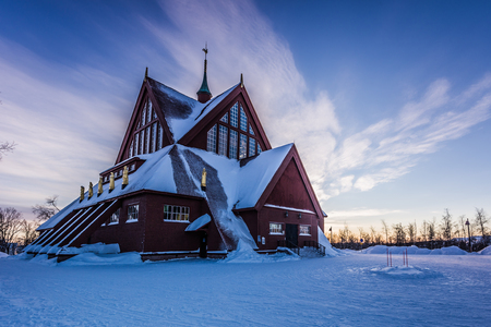 kiruna: Church of Kiruna, Sweden
