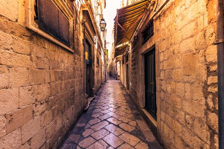 Wonder of the old town of Dubrovnik, Croatia