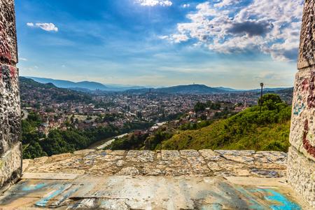 sarajevo: The city of Sarajevo, Bosnia