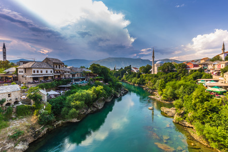 Magical old town of Mostar, Bosnia