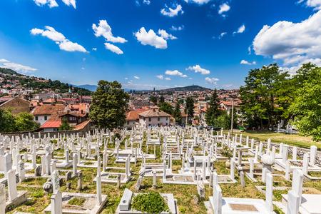 sarajevo: Graveyard in Sarajevo, Bosnia