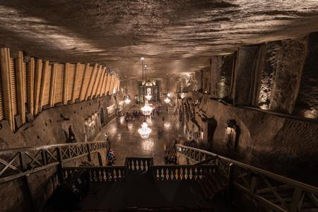 Underground Cathedral in the Wieliczka Salt Mines, Poland