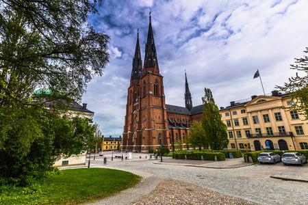 June 05, 2016: Cathedral of Uppsala, Sweden Editorial