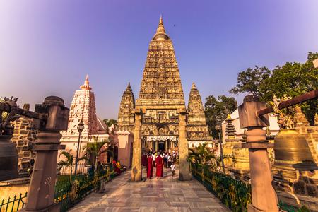 2014 年 10 月 30 日: インドのブッダガヤ