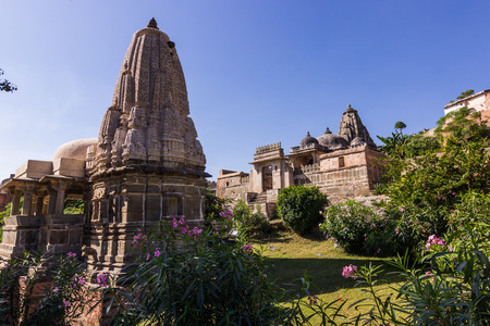 spiritual architecture: November 08, 2014: A hindu temple in Kumbhalgarh Fort, India