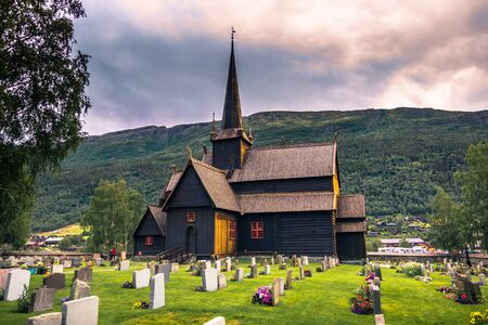 July 24, 2015: The Lom Stave Church, Norway