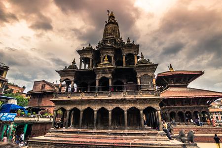 August 18, 2014 - Hindu temple in Patan, Nepal