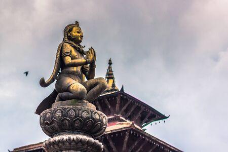 August 18, 2014 - Statue of deity in Patan, Nepal
