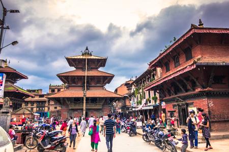 August 19, 2014 - Royal Square of Kathmandu, Nepal